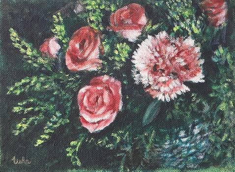 Usha Shantharam - Roses and Carnation