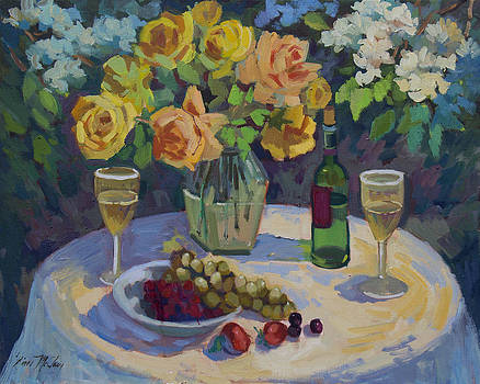 Diane McClary - Roses and Chardonnay