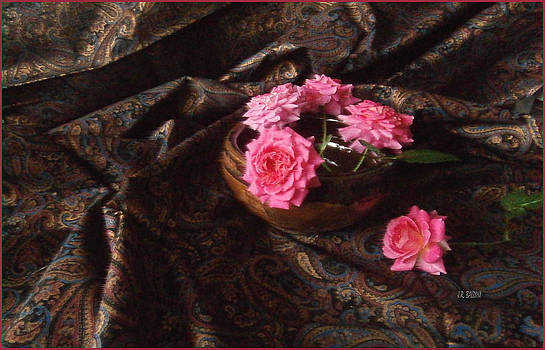Roses and Paisley by J R Baldini M Photog CR