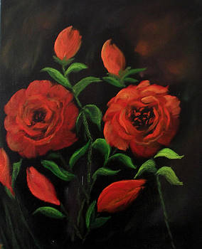 Roses are Red my Love..Sold by Cynthia Adams