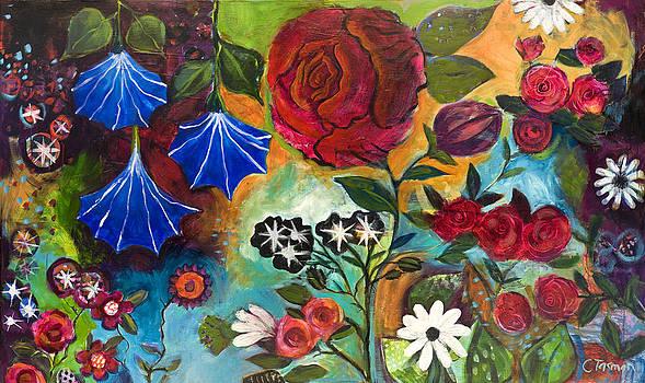 Roses by Carrie Tasman