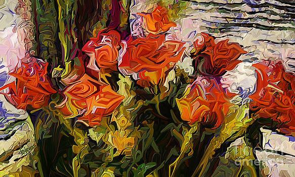 Dorinda K Skains - Roses for Vincent
