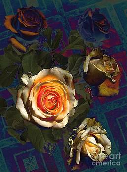 Roses forever by Halyna  Yarova