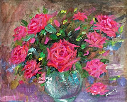 Roses by Helene Khoury Nassif