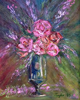 Patricia Taylor - Roses in a Vase for You