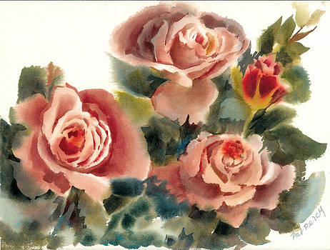 Roses in Summer by Pat Percy