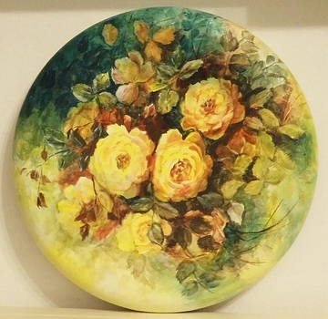 Roses in yellow by Patricia Rachidi