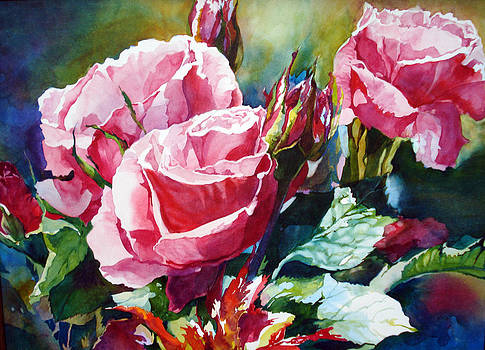 Roses by Karen Vernon