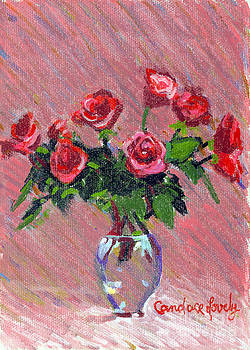 Candace Lovely - Roses on Pink