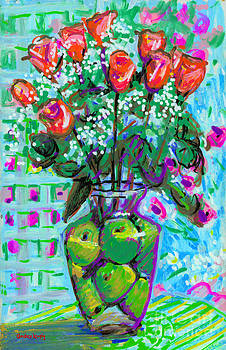 Candace Lovely - Roses with Apples