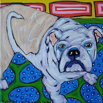 Rosie The Bulldog by Susan Sorrell