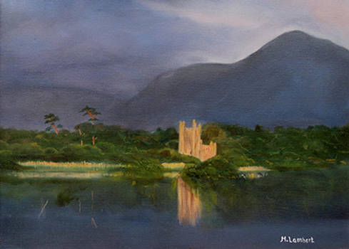 Ross Castle Killarney Ireland by Mary Lambert