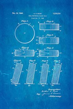 Ian Monk - Ross Ice Hockey Puck Patent Art 1940 Blueprint