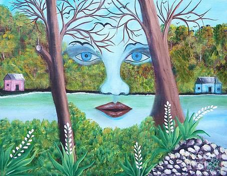 Rostro De La Naturaleza by Iris  Mora