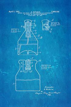 Ian Monk - Rotheim Aerosol Patent Art 1931 Blueprint