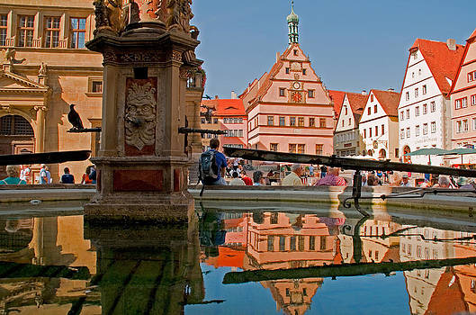Dennis Cox - Rothenburg square