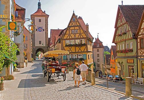 Dennis Cox - Rothenburg streets
