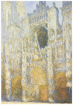 Claude Monet - Rouen Cathedral at Dawn