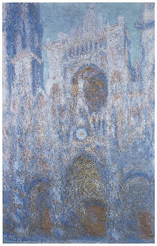 Claude Monet - Rouen Cathedral Symphone in Grey and Rose