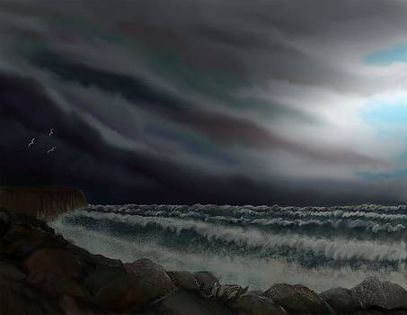 Rough Sea by Steve Hermann