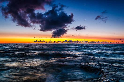Rough Sunrise by Todd Heckert