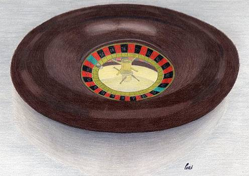 Roulette Wheel by Bav Patel