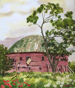Round Barn Nostalgia Arcadia Oklahoma Rt. 66 by Wes Loper