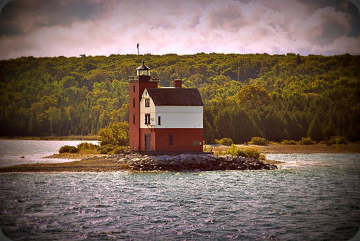 Round Island Lighthouse by Marysue Ryan