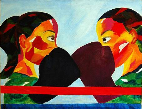 Round one  by Onana Malik-Silverio