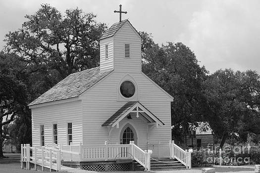 Round Top Texas Church by Rod Andress