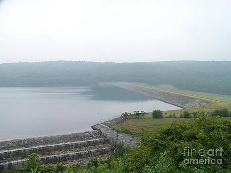 Roundout Reservoir Dam by Kevin Croitz
