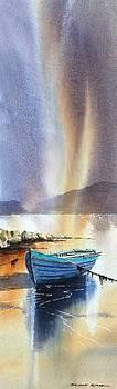 Roundstone Aurora by Roland Byrne