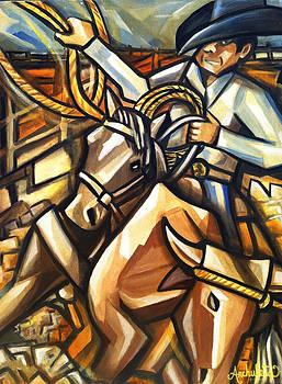Roundup by Ruben Archuleta - Art Gallery