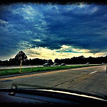 Route #422 In Pennsylvania by Ron Johnson