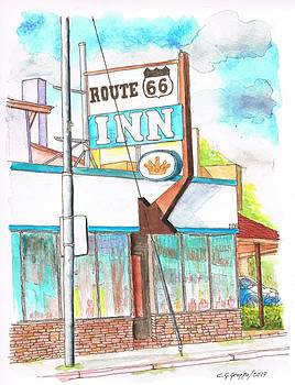 Route 66 Inn in Route 66, Williams, Arizona by Carlos G Groppa
