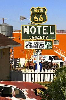 Mike McGlothlen - Route 66 Motel - Barstow