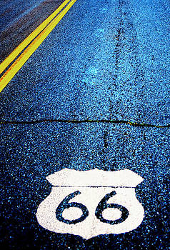 Route 66 Shield by Patrick Jennings