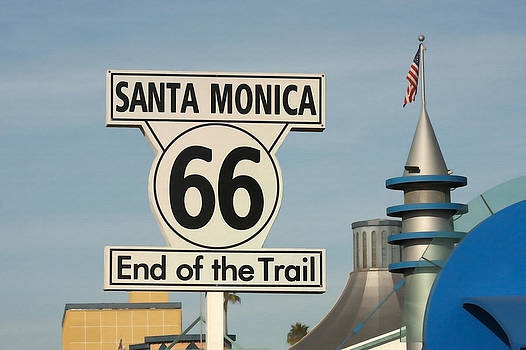 Art Block Collections - Route 66 Sign