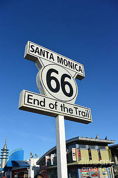 Route 66 by Timothy OLeary