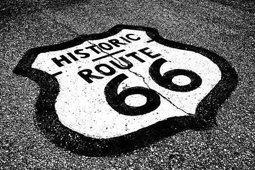Route 66 by Tom Hard
