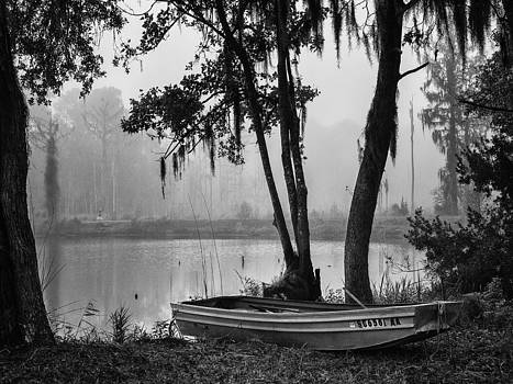 Row Boat on a Foggy Morn by Sandra Anderson