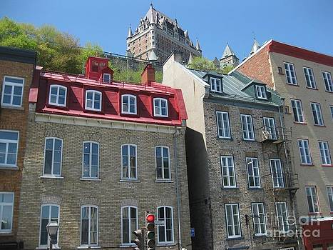 Stella Sherman - Row Houses in Quebec City