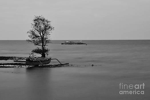 Rowing Boat by Wayan Suantara