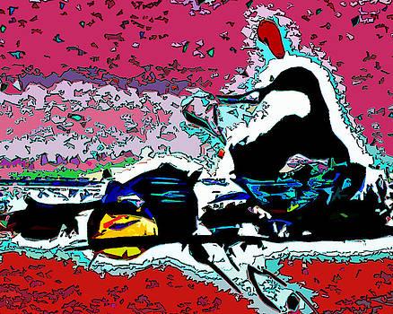 Rowing II by Robert St Clair