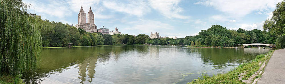 Jo Ann Snover - Rowing in Central Park