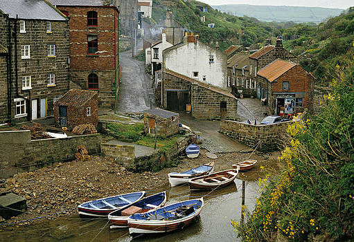 Roxby Beck Staithes Yorkshire UK by David Davies