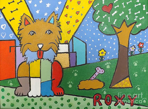 Roxy popart by Marcus Hudson