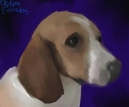 Royal Beagle by Dakota Eichenberg