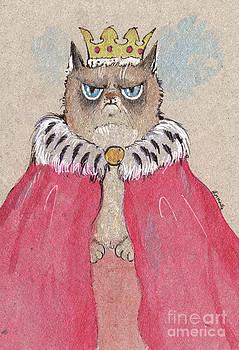Angel  Tarantella - royal grumpy cat