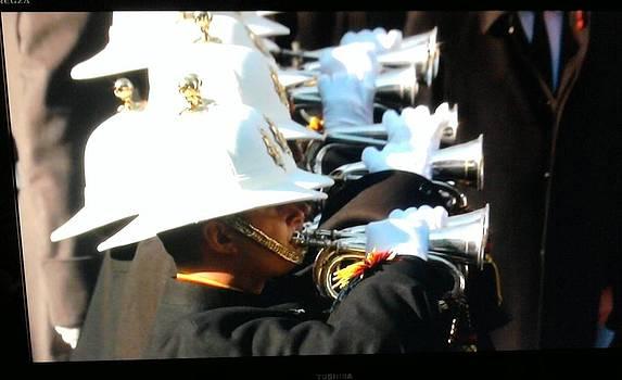 Royal Marine Bandsmen by Geoff Cooper